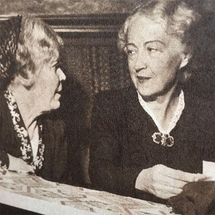 Amelie Posse och Marika Stiernstedt