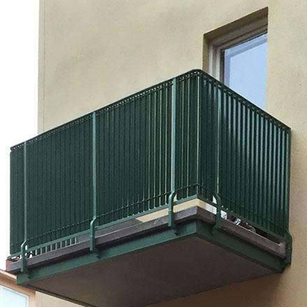 Armefördelningen 2 balkong detalj