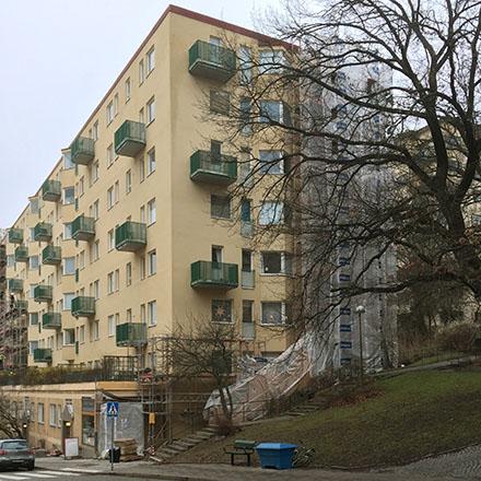 Armefördelningen 2 balkong