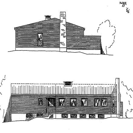 Disponentbostaden - fasad