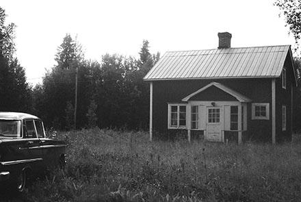Ett hus i Västerbotten
