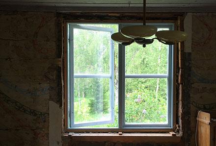 Innan fönsterbytet