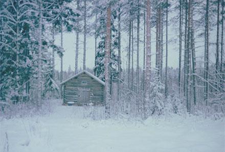 Julpolaroider 2014 kyrkstallet
