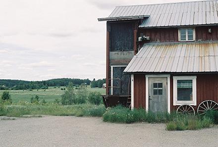 Fönster ovanför ytterdörr