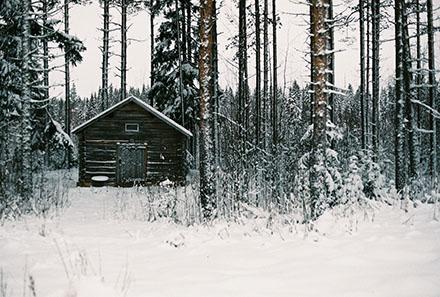 Kyrkstallet i vintras