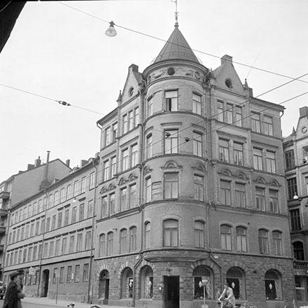 Linnegatan Grevgatan 1