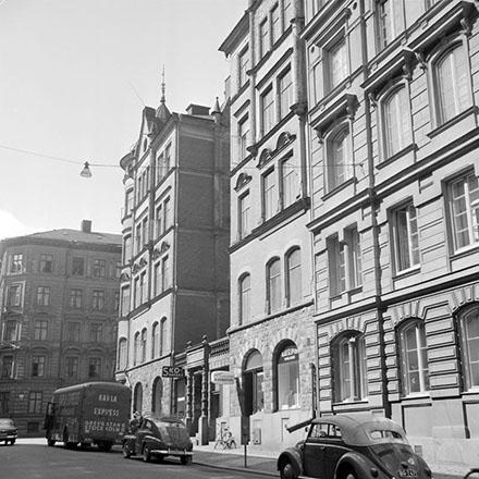 Linnegatan Grevgatan 2