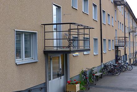 Luleå balkong