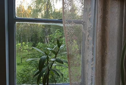Målat fönster