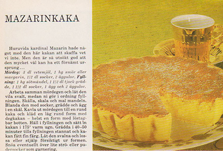 baka med äggulor recept