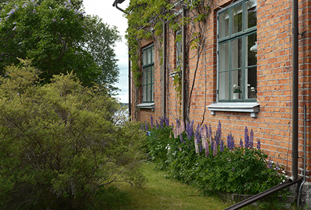 Norrbyskär - tegelhus