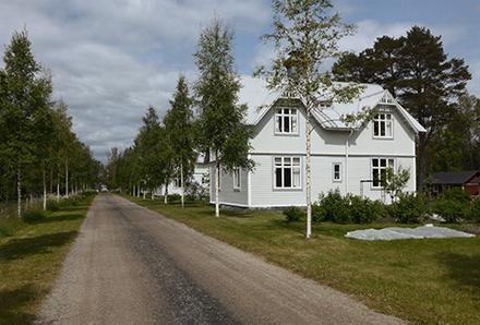 Norrbyskär - vita villor