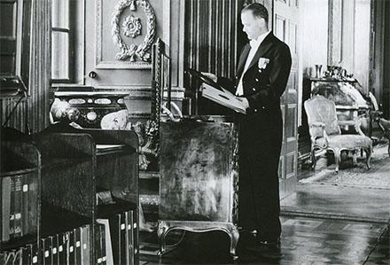 Radion som Gustav V ägde