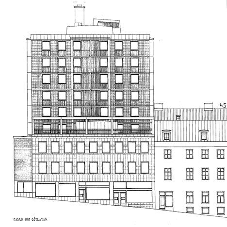 Schönberg 6 fasad
