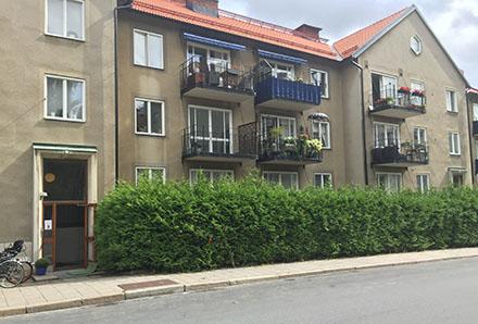 Sommarvägen 2-4 Vireberg fasad
