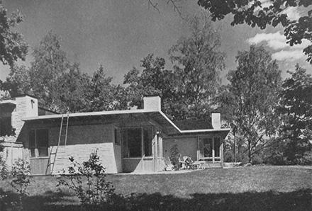 Villa Ranängen - fasad 1