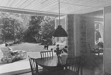 Villa Ranängen - matplats och trädgård