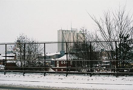 Vinter i Frihamnen