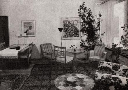 Josef Frank på Rindögatan 52