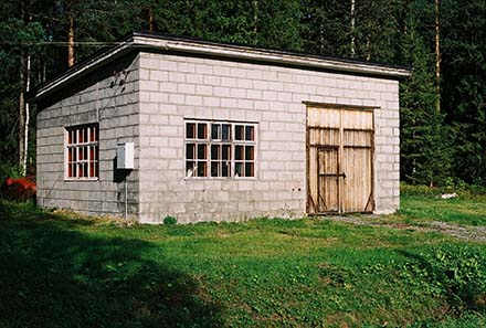 garagebyggnad