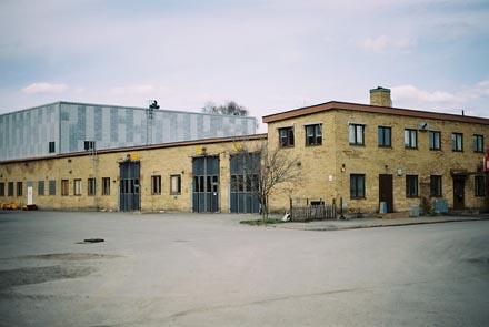 Hus i Frihamnen