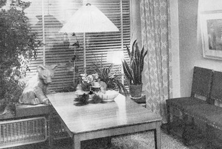 Astrid Sampes vardagsrum