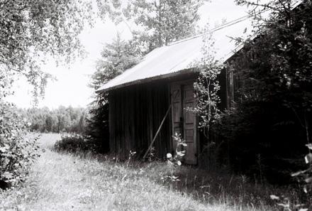 Slåttarstugas stall