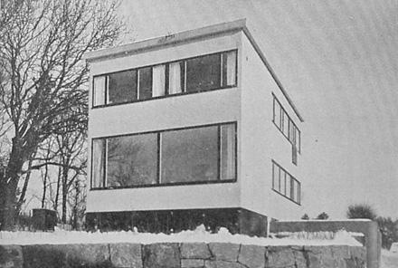 Ingrid Wallbergs villa i Örgryte